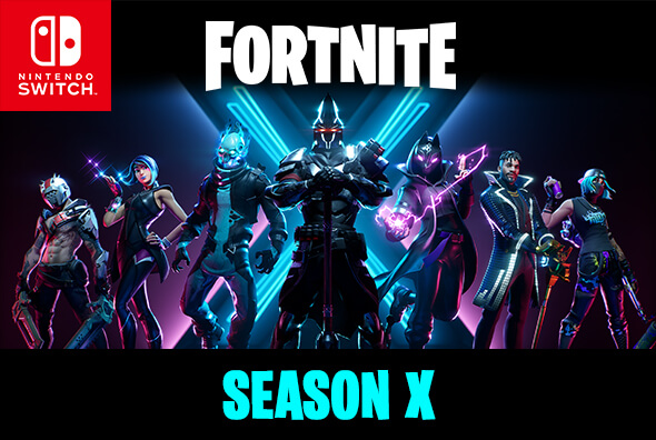 Fortnite on Nintendo Switch - Season X is now available!