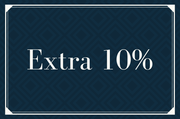 Exclusive Extra10% OFF
