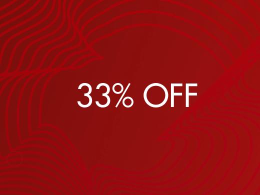 33% Off